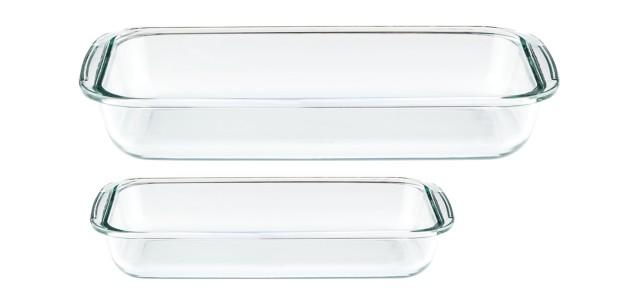 Forni - Set 2 Asadera rectangular para hornear y servir
