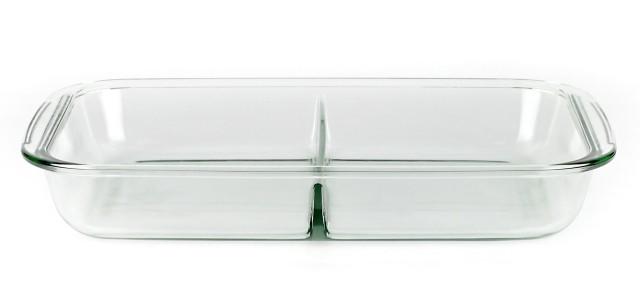 Forni - Asadera rectangular con separador