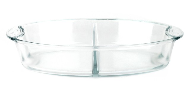 Forni - Asadera oval con separador